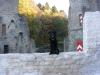 Findus in der Burg Hardenstein